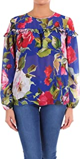 BLUGIRL Luxury Fashion Womens 7134112 Blue Blouse | Season Outlet