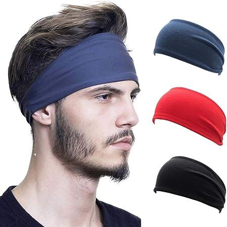 Bandage Haarband Yoga Stirnband Schweißband Fitness Unisex Elastic Langlebig