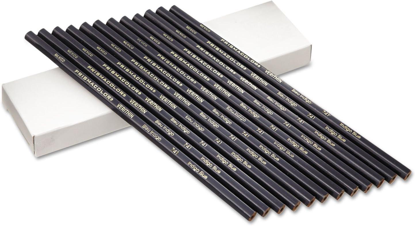 Prismacolor Verithin Colored Pencil, Indigo Blue (2443)