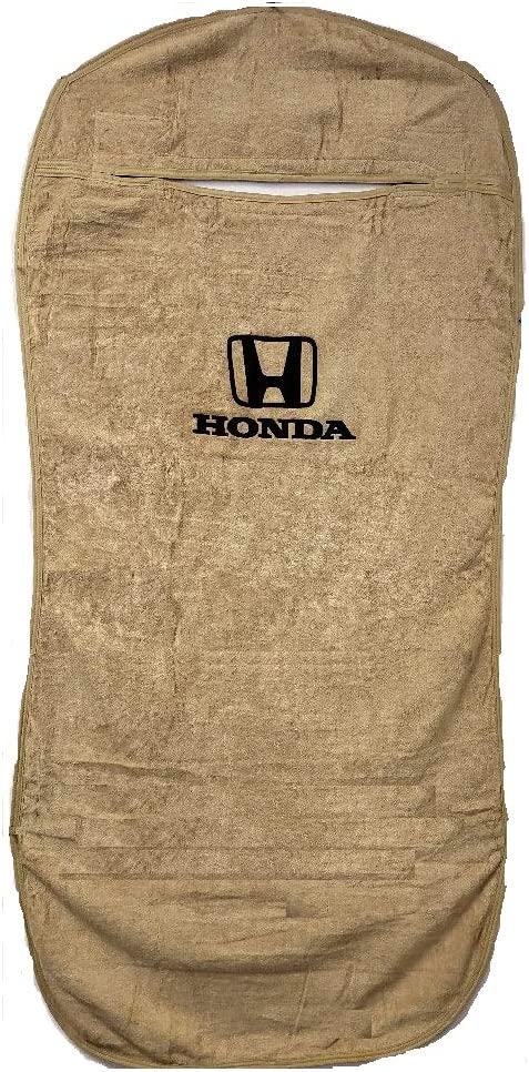 Seat Armour SA100HONB Officially Licenced Honda Black Car Seat Protector Towel