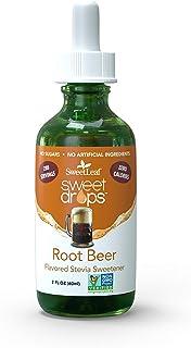 SweetLeaf Sweet Drops Liquid Stevia Sweetener, Root Beer, 2 Ounce