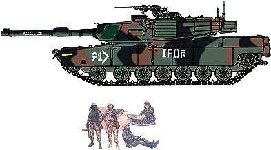 Cyber Hobby 1/35 USMC M1A1 Abrams (Heavy Armor) + U.S. Tank Crew Figure Set