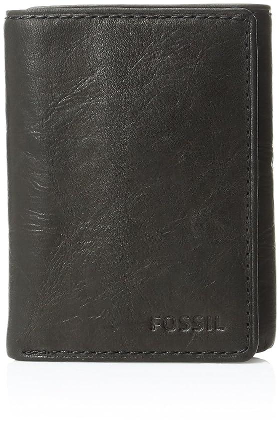 出発余剰存在するFossilメンズIngram Extra容量三つ折り財布