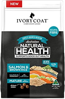 Ivory Coat Mature Salmon & Brown Rice, Adult and Senior 18kg