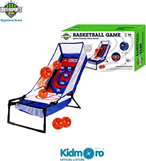 Kidmoro United Sports Electronic Basketball Bounce & Score, Blue