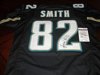 Jimmy Smith Jacksonville Jaguars Sports Memorabilia JSA/Coa Autographed Signed Autograph Jersey