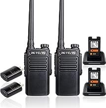 Retevis RT47 Walkie Talkies Waterproof IP67 FRS Radio Scan Channel Lock Vox Handsfree Security Two Way Radio Cruise Shipping Hiking Hunting(2 Pack)