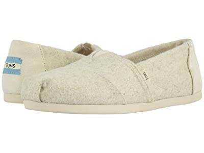 TOMS Alpargata 3.0 (Natural Felt/Faux Shearling) Women
