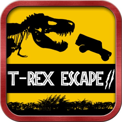 T-Rex Flucht Dino Park - Jeep Verfolgung Jurassic Dinosaurier