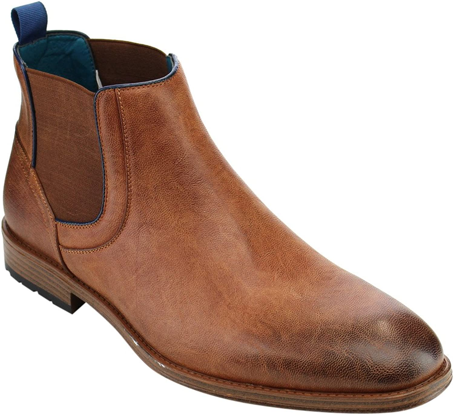 Arider AD07 Men's Pull On Elastic Ankle Boots