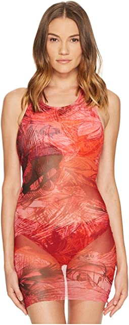 FUZZI - Halter Neck Tankini Swimsuit