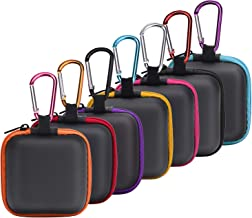 SUNMNS Earphone Case Headphone Storage Bags Compatible for Wireless Beats Bose Earbuds, Airpods, Bluetooth Sport Headphone, 7 Pieces