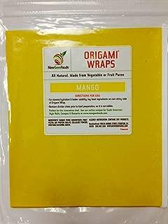 Mango Origami Sushi Wraps