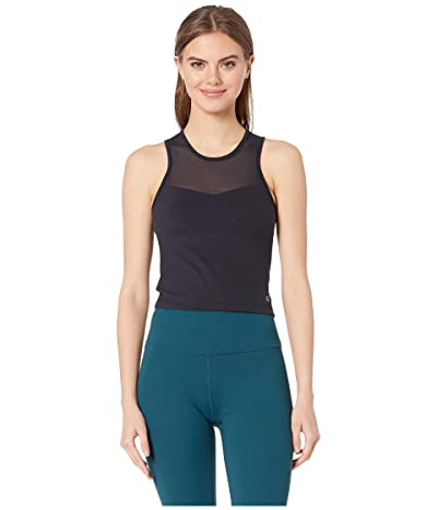 manduka Solite Crop Top (Black) Women