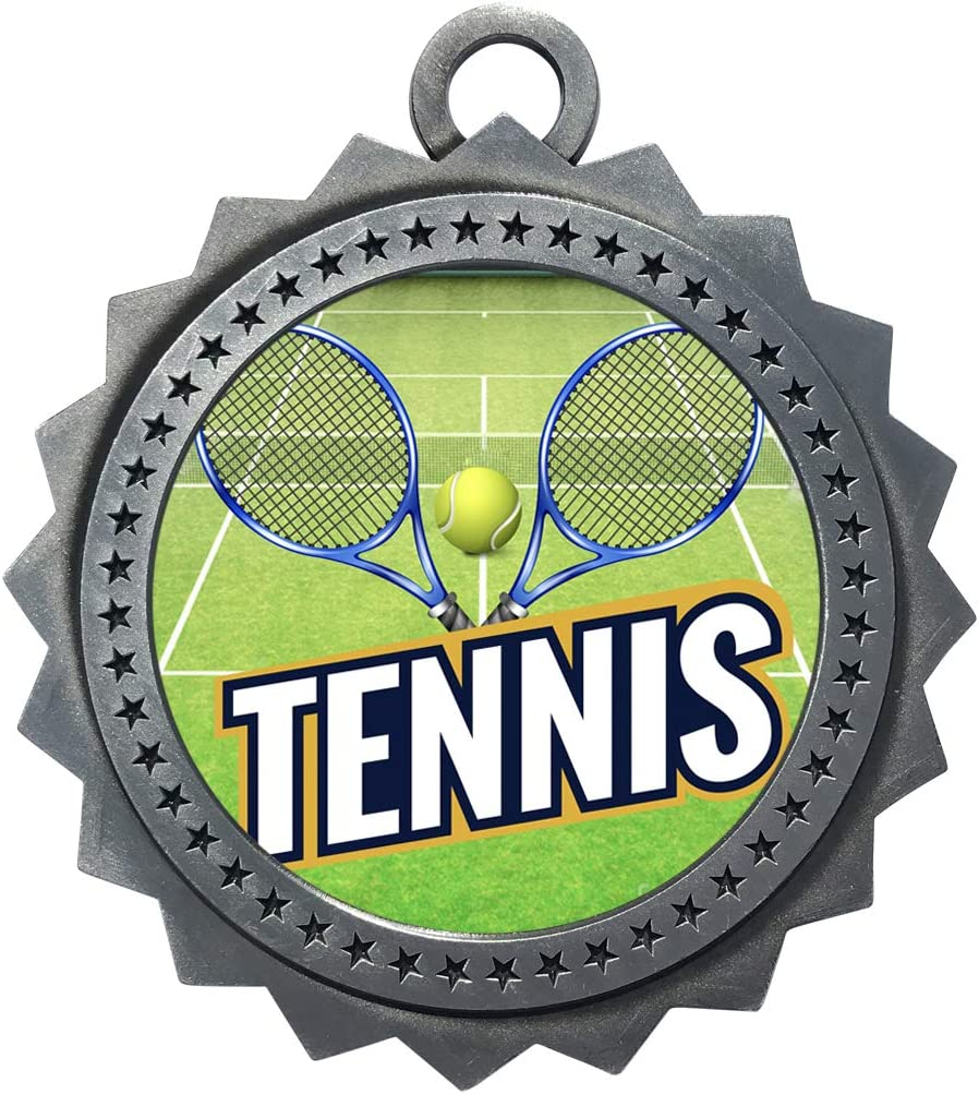 Express Medals Special sale item 1 to 50 Packs Award Tennis Chicago Mall Silver Medal Trophy wi