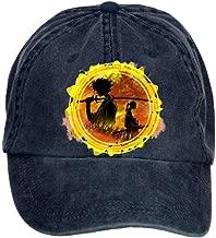 Jidlg Unisex Man Cotton Samurai Champloo Badge Adjustable Sun Visor Baseball Cap