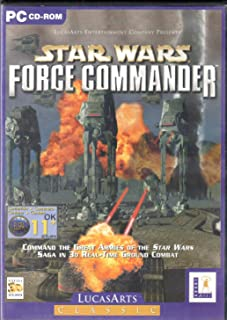 LucasArts Classic: Star Wars: Force Commander (PC)