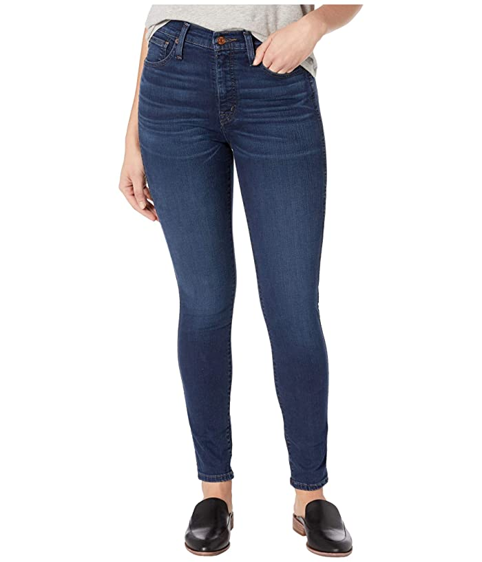 Madewell  10 High-Rise Skinny Jeans in Hayes (Hayes Wash) Womens Shorts