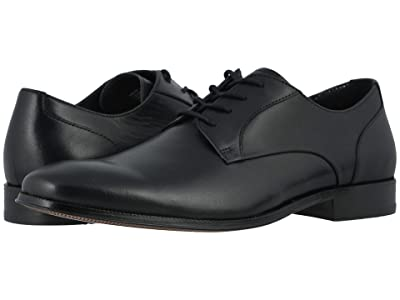 Florsheim Jetson Plain Toe Oxford (Black Smooth) Men