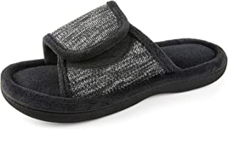 RockDove Men's Adjustable Wrap Memory Foam Slide