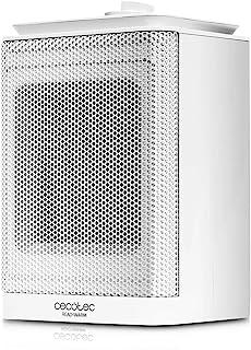 Cecotec Calefactor Cerámico Ready Warm 6150 Ceramic Rotate Style. 3 Modos, Termostato Regulable, Sistema Antivuelco, Protección sobrecalentamiento, 1500 W