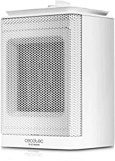 Cecotec Calefactor Baño Cerámico Ready Warm 6150 Ceramic Rotate Style. Oscilante, 1500 W, Termostato Regulable, 3 Modos, P...
