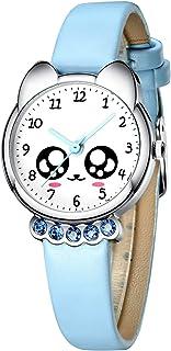 Montre Enfant Montres Bracelet Filles Enfants Design Sport Étanche Mignonne Dessin Animé Montres Quartz Cuir Time Teacher ...