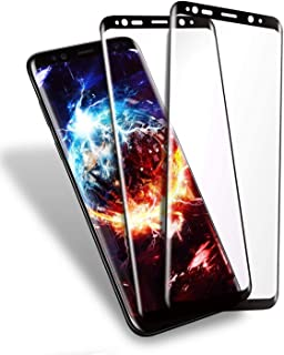 GalaxyS8 ガラスフィルム SC-02J ガラス フィルム 2枚セット S8 液晶保護 フィルム 保護シートSCV36 ギャラクシーS8 保護ガラス 【貼り付け簡単/超薄/気泡ゼロ/高感度タッチ/透過率98%】