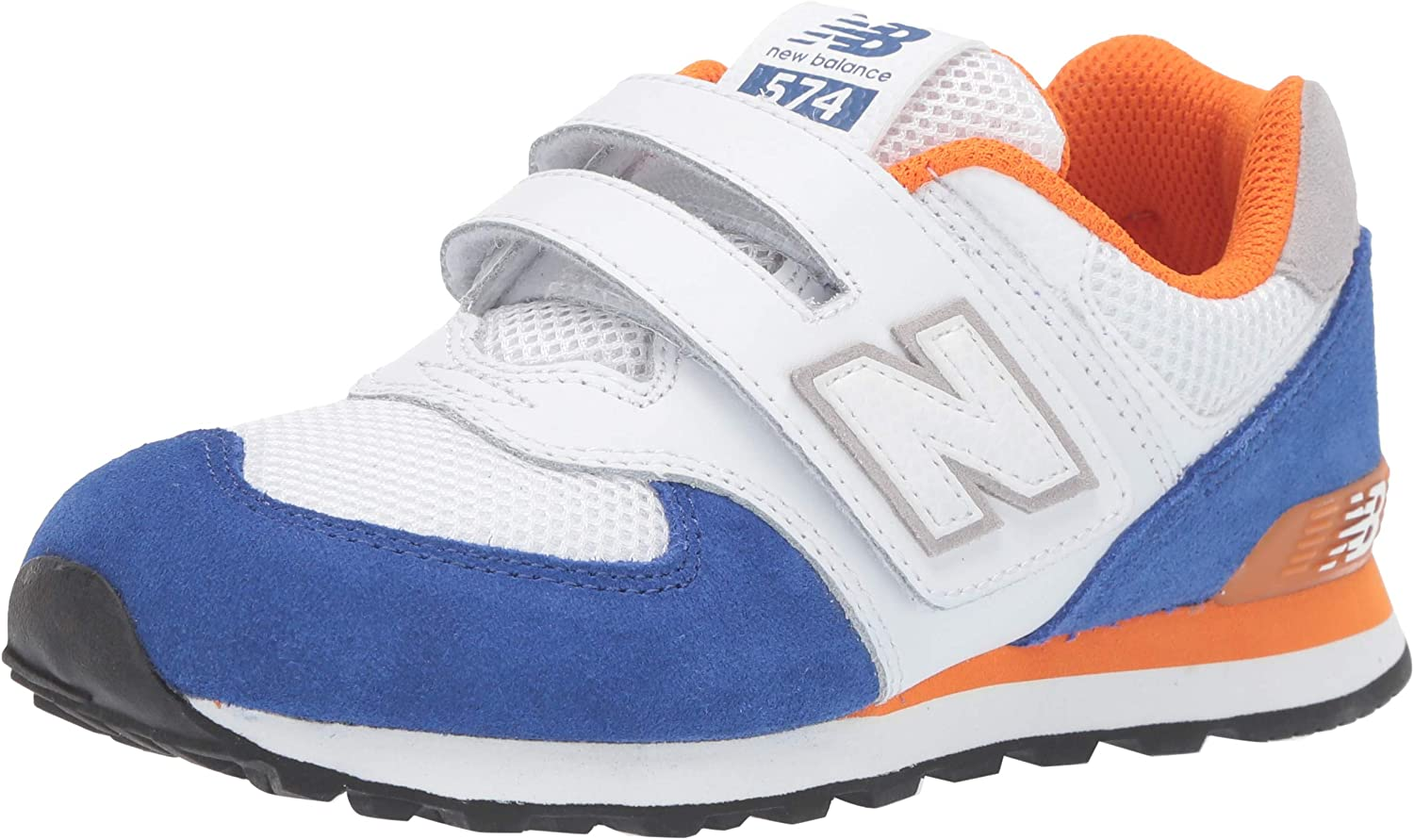 New Balance Kids' Max 47% OFF 574 Sneaker 1 year warranty V1 Leather