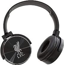 Liverpool FC Black Bluetooth Headphones LFC Official