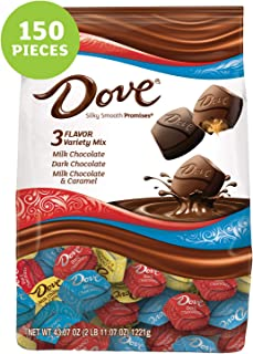 DOVE PROMISES Variety Mix Chocolate Candy 43.07-Ounce 150-Piece Bag