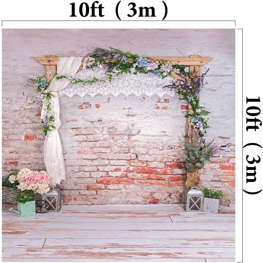 Kate 5x7ft//1.5x2.2m Wedding Backdrops Brick Wall Portrait Photography Shoot Studio Props