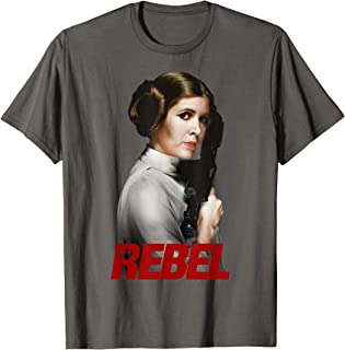 Princess Leia REBEL With A Cause Graphic T-Shirt