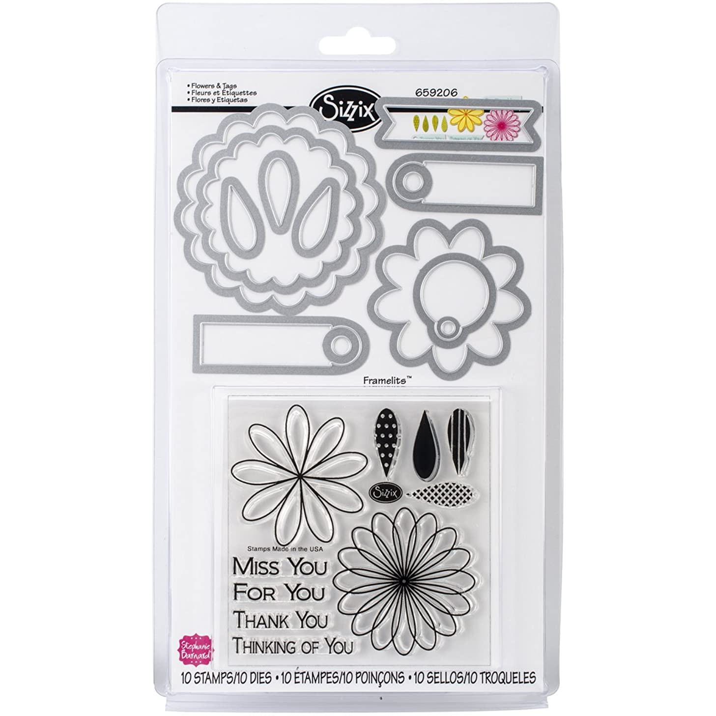 Sizzix Guidelines4quilting QR-UPKT Quilt Ruler Upgrade Kit