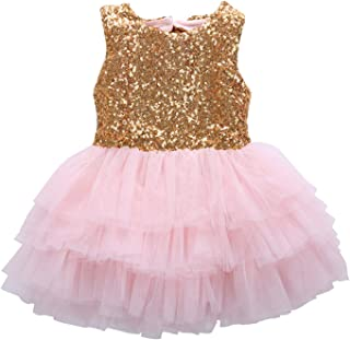 bdad28ae88f7e Amazon.ca: Gold - Dresses / Girls: Clothing & Accessories