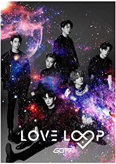 gerFogoo Customized Kpop GOT7 Poster 《Call My Name》 Eyes On You Poster Wall Scroll Hanging Paintings for Fans(6H02-420297mm)