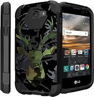 Untouchble Case for LG K3 Hard Case| LG LS450 (Virgin Mobile, Boost Mobile) [Traveler Series] Dual Layer Hybrid Kickstand Case - Deer Camo Hunt
