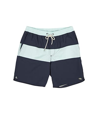Salty Crew Beacons Elastic Boardshorts (Navy) Men