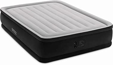 """Intex Dura-Beam Series Elevated Comfort Airbed with Built-In Electric Pump, Bed Height 16"""", Queen - Amazon Exclusive"""