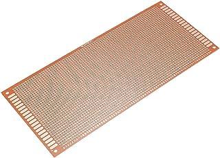 LNIEGE 10PCS 0.4mm Placa PCB Laminado Tarjetas de circuitos Impresos con Revestimiento de Cobre Placa de Circuito