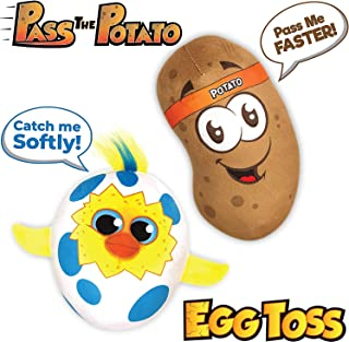 Move2Play Games Party Pack - Includes -Talkin' Potato and Egg Toss, Bundle Set