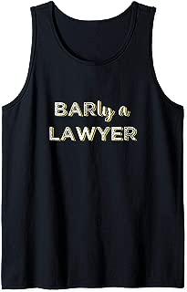 Future Lawyer Bar Exam Taker Pun Tank Top