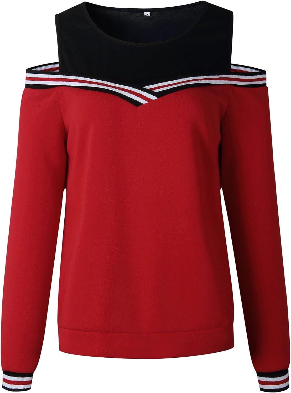 RAFAGO Fashion Strapless Strappy Sweater, rot