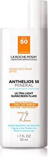 La Roche-Posay Anthelios Ultra-Light Mineral Sunscreen SPF 50