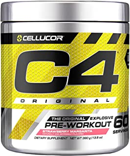 Cellucor C4 Original Pre Workout Powder Strawberry Margarita | Sugar Free Preworkout Energy Supplement for Men & Women | 1...