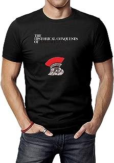 Men's Black Josh Ritter The Historical Conquest T-Shirt Tee Shirt