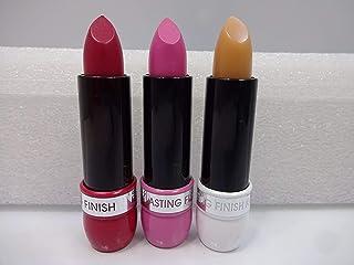 3 barras de labios Rimmel London 1 lápiz labial de acabado duradero Rimmel 016 y 2 barras de labios Kate con acabado dura...