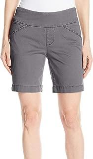 JAG Jeans Women's Shorts Gray US Size 10 Bermuda Walking Classic-Fit
