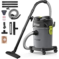 AUTLEAD WDS02A 5 Gallon Wet/Dry/Blow 3 in 1 Shop Vac with Pulley System, HEPA Disposable Bag, 3 Brush Included