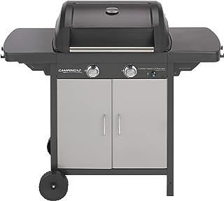 Campingaz Barbecue à Gaz 2 Series Classic LX Plus Vario, 2 Brûleurs, Puissance 7.5kW, Grille et Plancha en Acier Double Em...